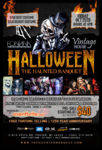 biggest halloween party in macomnb county